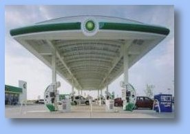 BP Station Photovoltaic Canopy System