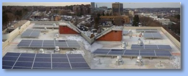 White Plains, NY - Federal Funded - Installed With Custom Proprietary Roof Penetrating Racking System