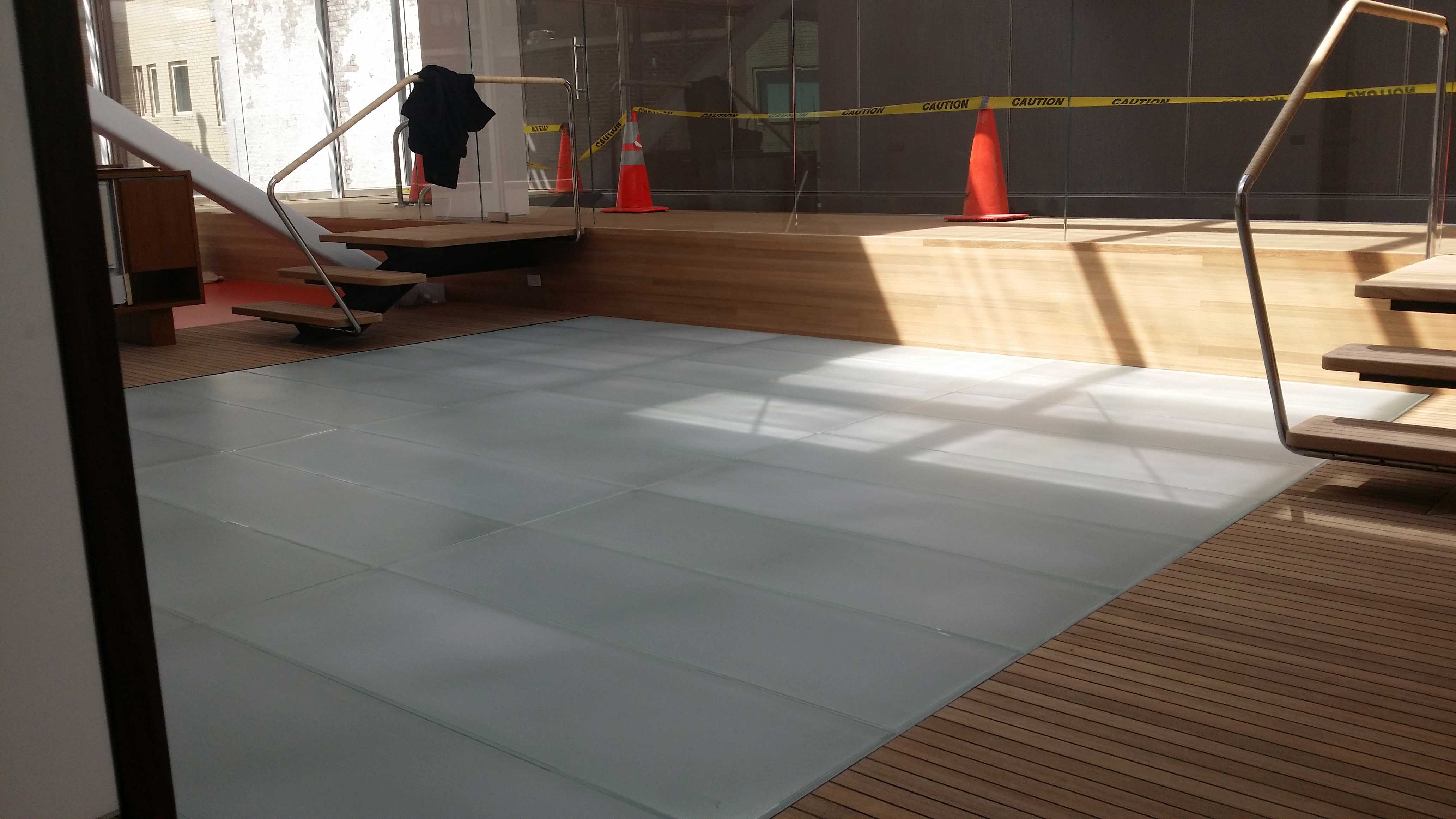 Walkable Skylights Custom Structural Glass Flooring